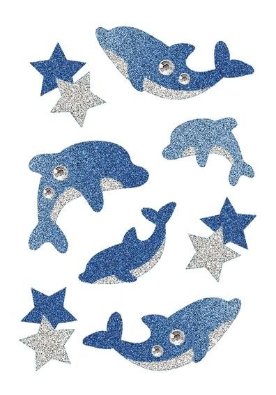 HERMA 6436 10x Sticker MAGIC Delphine, Diamond Glittery