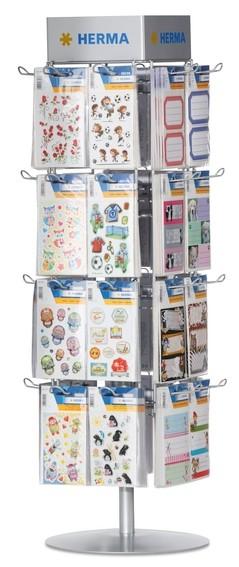 HERMA 7956 Theken-Einzeldrehständer für Kleinpackungen und Stick