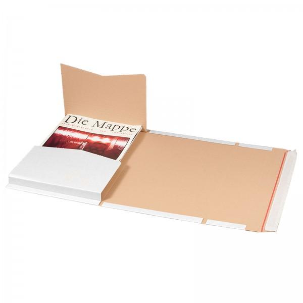 Buchversandverpackung 455 x 325 x 80 mm DIN A3 Weiß