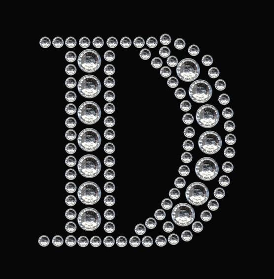 HERMA 15333 3x Crystal Sticker D