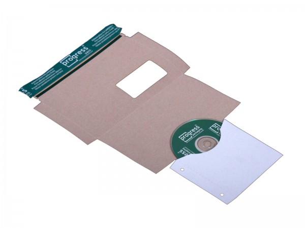 CD-Mailer DIN lang mit Archivtasche Fenster links