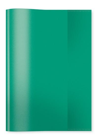 HERMA 7485 2500x Heftschoner PP A5 transparent/dunkelgrün