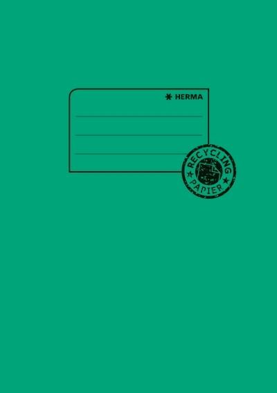 HERMA 5505 10x Heftschoner Papier A5 dunkelgrün