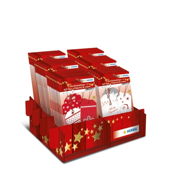 HERMA 15272 Display Geschenkanhänger Weihnachten