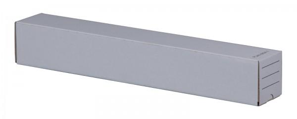 Versandhülse mit Steckverschluss 500 x 75 x 75 mm in Weiß