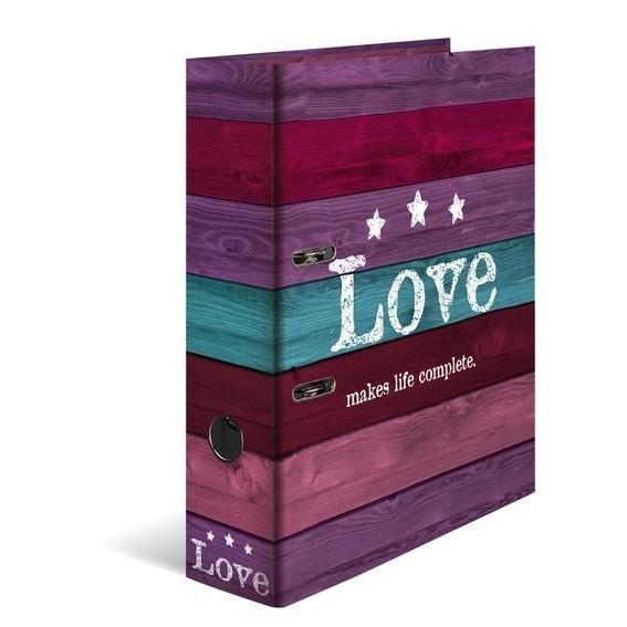 HERMA 7182 10x Motiv-Ordner A4 - Love
