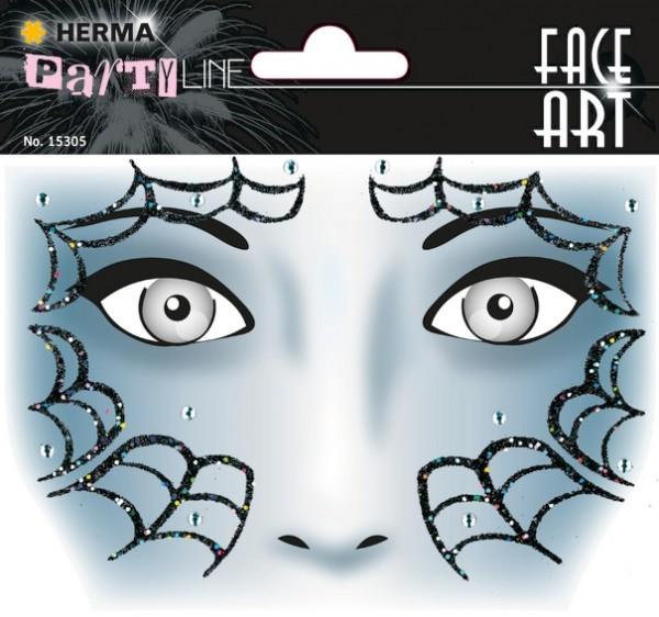 HERMA 15305 5x Face Art Sticker Spider