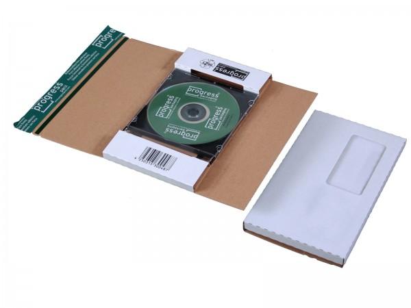 CD-Jewel-Mailer DIN lang Fenster rechts