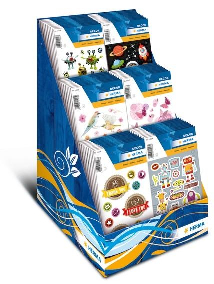 HERMA 15226 10x Sticker DECOR Happy Day