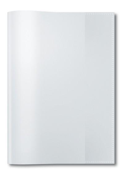 HERMA 7480 2500x Heftschoner PP A5 transparent/farblos
