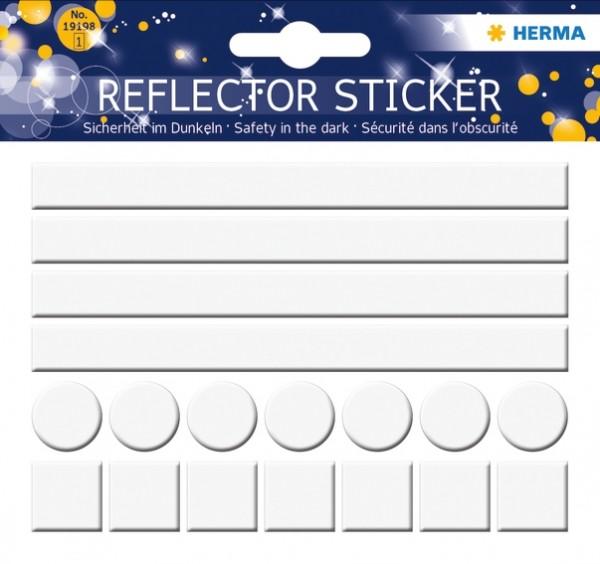 HERMA 19198 5x Reflektorsticker Neutral
