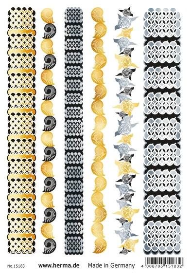 HERMA 15183 5x FLASH Tattoo Bracelets