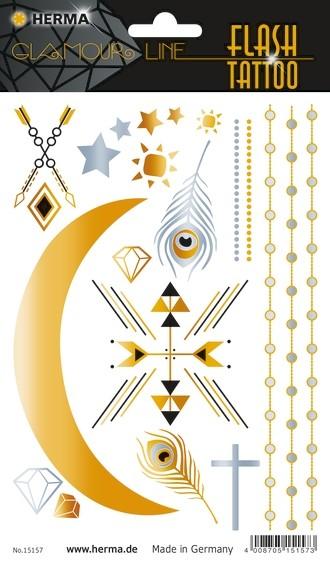 HERMA 15157 5x FLASH Tattoo African