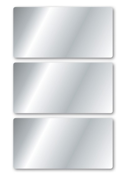 HERMA 15079 10x Silberetiketten 34 x 67 mm 9 St.