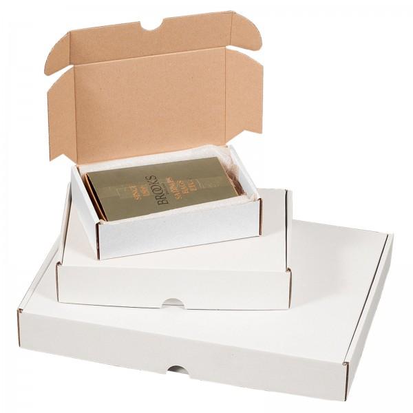 Maxibriefkarton 175 x 115 x 45 mm Weiß
