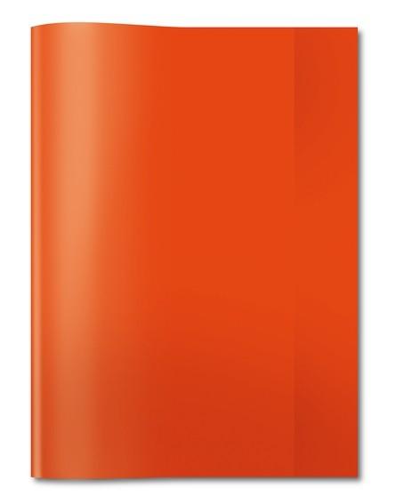 HERMA 7492 2500x Heftschoner PP A4 transparent/rot