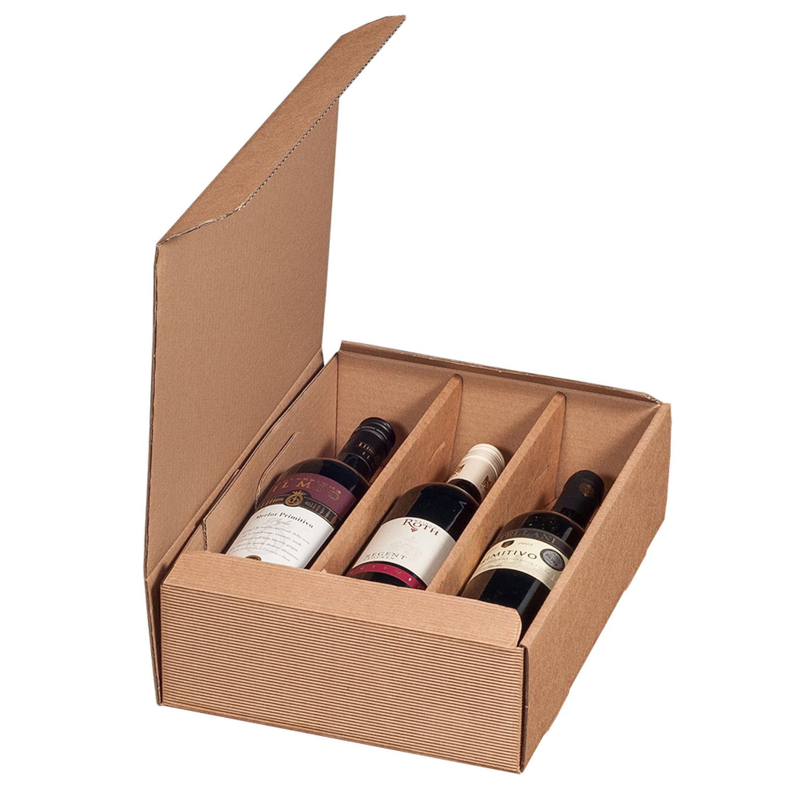 Flaschen wein verpacken 2 Geschenke