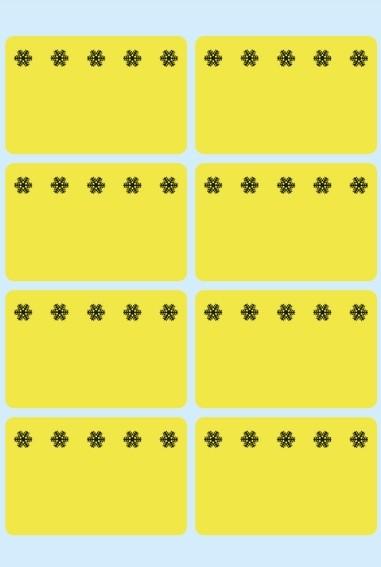 HERMA 3771 Tiefkühletiketten gelb 26x40 mm Eiskristalle 480 St.