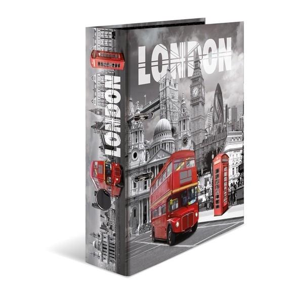 HERMA 7172 10x Motiv-Ordner A4 - London