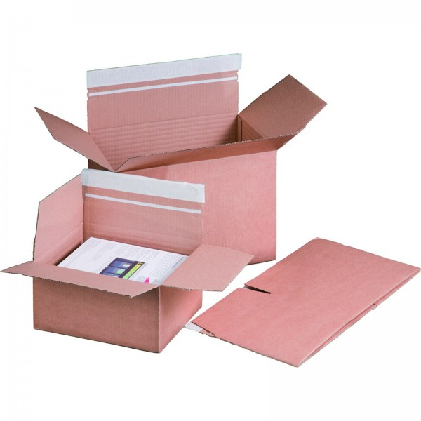 Versandkarton Automatikboden 460x309x180-300mm DIN A3+