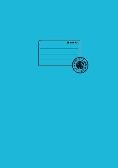 HERMA 5527 10x Heftschoner Papier A4 türkis