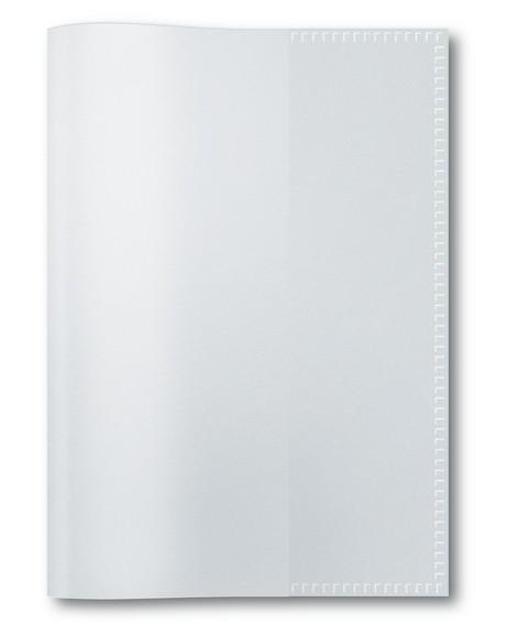 HERMA 7460 2500x Heftschoner PP A6 hoch transparent/farblos