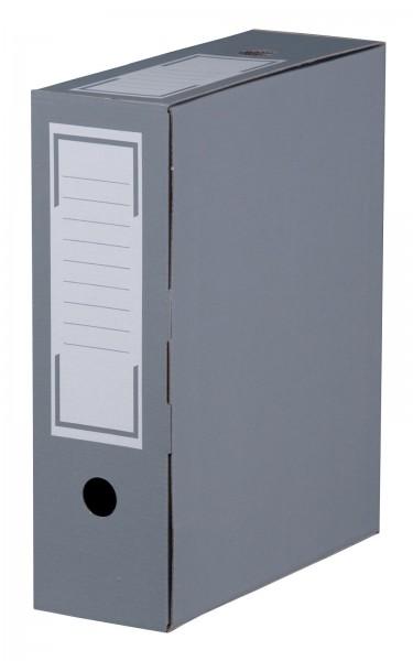 Archiv-Ablagebox 315 x 96 x 260 mm Anthrazit
