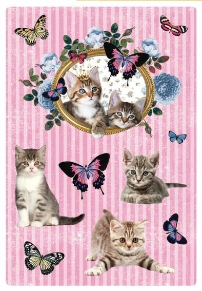 HERMA 3064 10x Sticker DECOR Katzenzauber