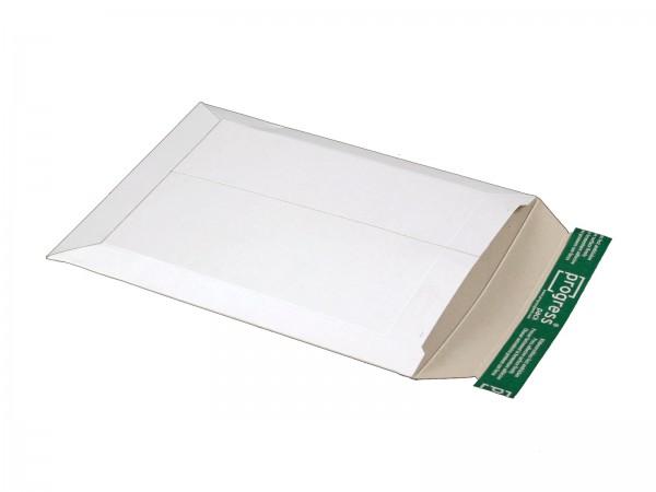 315 x 240 x -32 mm Versandtasche aus Vollpappe (weiß)