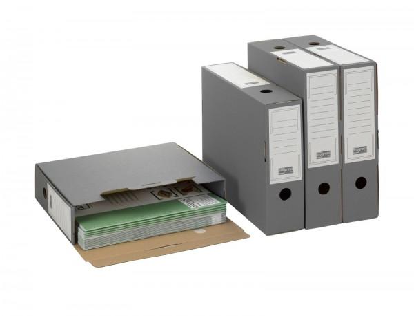 Ablagebox 80/100 SELECT 315 x 76 x 260 mm grau