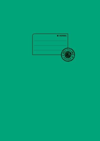 HERMA 5535 10x Heftschoner Papier A4 dunkelgrün