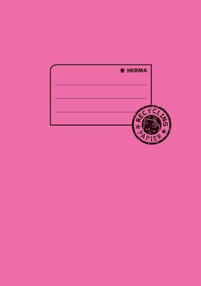 HERMA 5514 10x Heftschoner Papier A5 pink