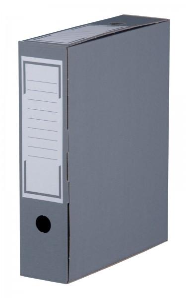 Archiv-Ablagebox 315 x 76 x 260 mm Anthrazit