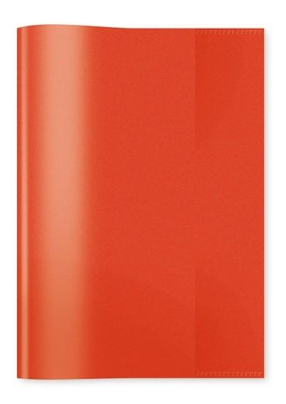 HERMA 7482 2500x Heftschoner PP A5 transparent/rot