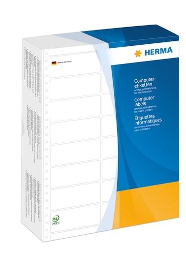 HERMA 8269 Computeretiketten 210,82x150,0 mm 1-bahnig weiß perfo