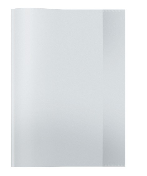 HERMA 7490 2500x Heftschoner PP A4 transparent/farblos