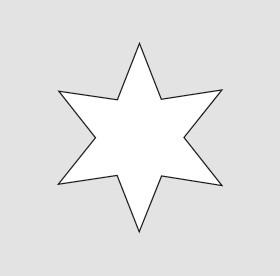 HERMA 3904 10x Sticker DECOR Sterne 6-zackig, gold Ø 16 mm