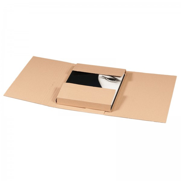 Buchversandverpackung 330 x 240 x 80 mm DIN A4