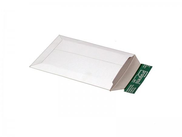 250 x 175 x -32 mm Versandtasche aus Vollpappe (weiß)