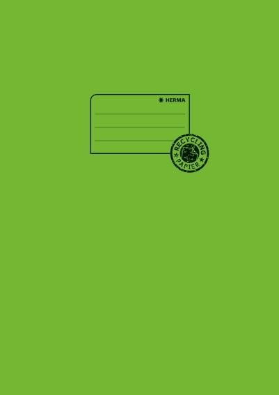HERMA 5538 10x Heftschoner Papier A4 grasgrün