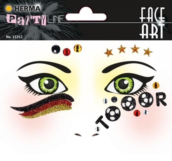 HERMA 15312 5x Face Art Sticker Deutschland