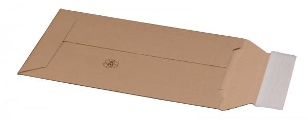 Kartonversandtasche 187 x 272 x 50 mm DIN A5 mit Aufreißfaden & Selbstklebeverschluss