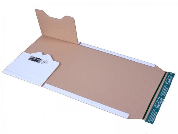 Buch-Versandverpackungen 300 x 220 x -80 mm weiß