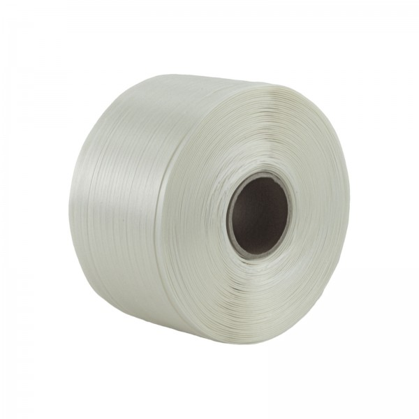 1 Rolle Textilband 19 mm 600 m 550 KG Textil Band Umreifungsband