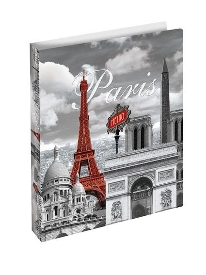 HERMA 19134 3x Ringbuch A4 Paris