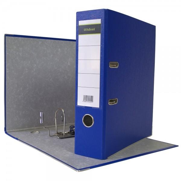 Ordner A4 8 cm PP Kunststoff Blau Aktenordner Briefordner