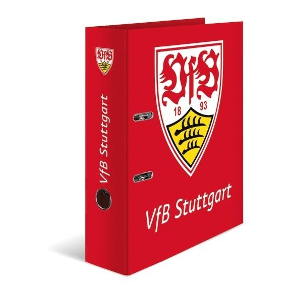 HERMA 19097 5x Motiv-Ordner A4 VfB Stuttgart, Rot