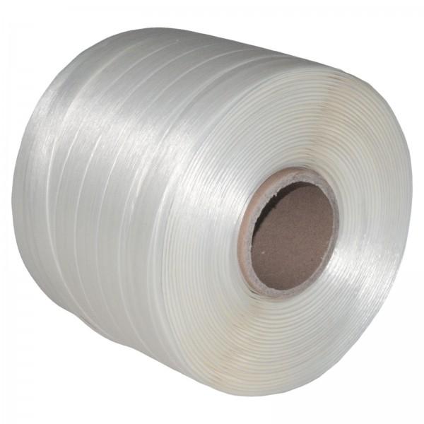 1 Rolle 19 mm 250 m 550 KG Ballenpresse Textil Band Umreifungsba