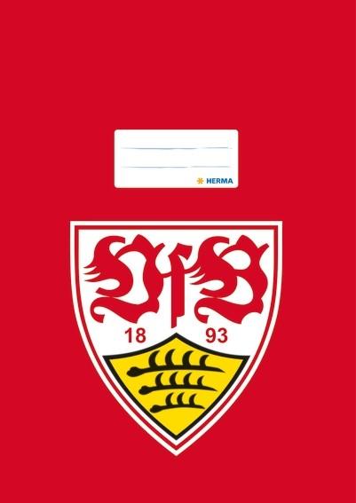 HERMA 19157 2500x Heftschoner A4 VfB Stuttgart