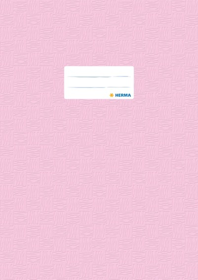 HERMA 7451 2500x Heftschoner PP A4 gedeckt/rosa